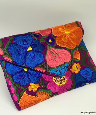 Medium Lavender Clutch
