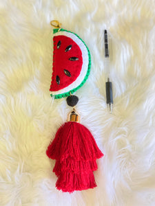 Watermelon Keychain