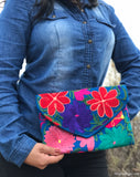 Medium Sky Blue Clutch