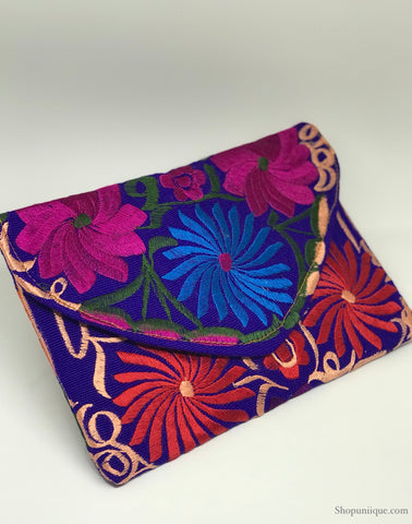 Medium Blue Clutch