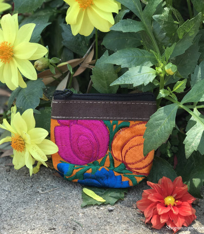 Orange Coin Purse