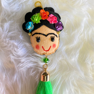 Frida Single Color Keychain
