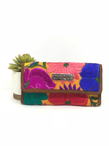 Amber Yellow Wallet