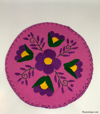 Pink & Purple Tortilla Warmer