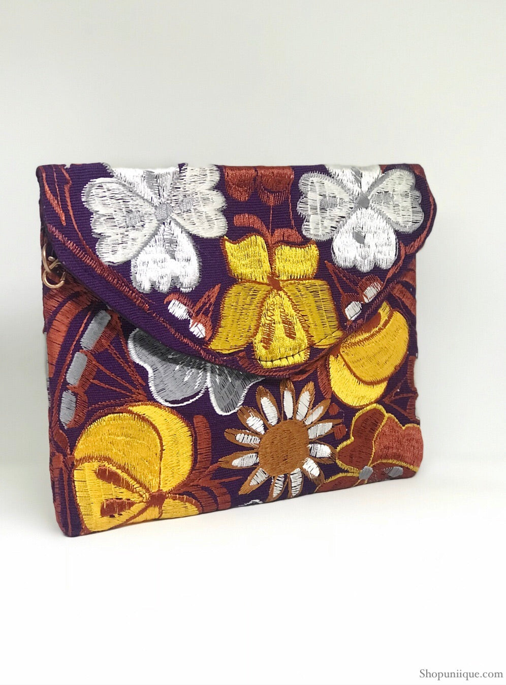 Spring Purple Cross Body