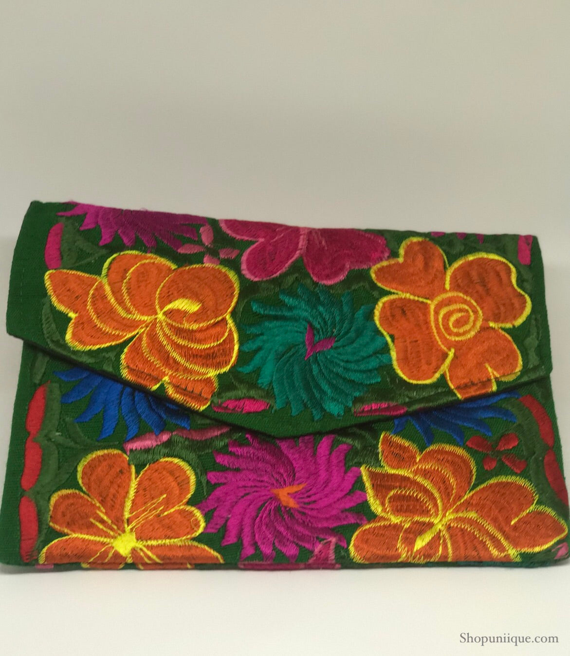 Medium Green Clutch