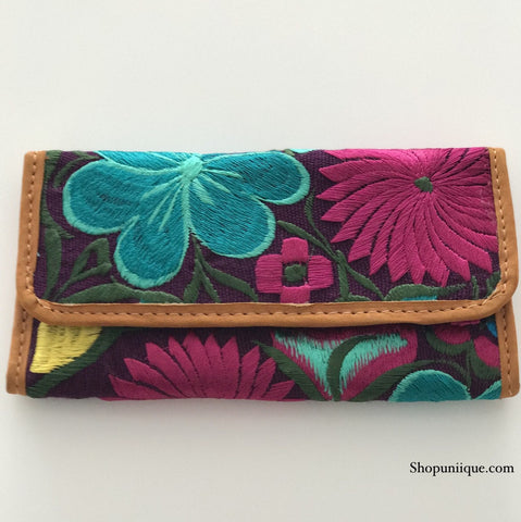Dark Purple Wallet