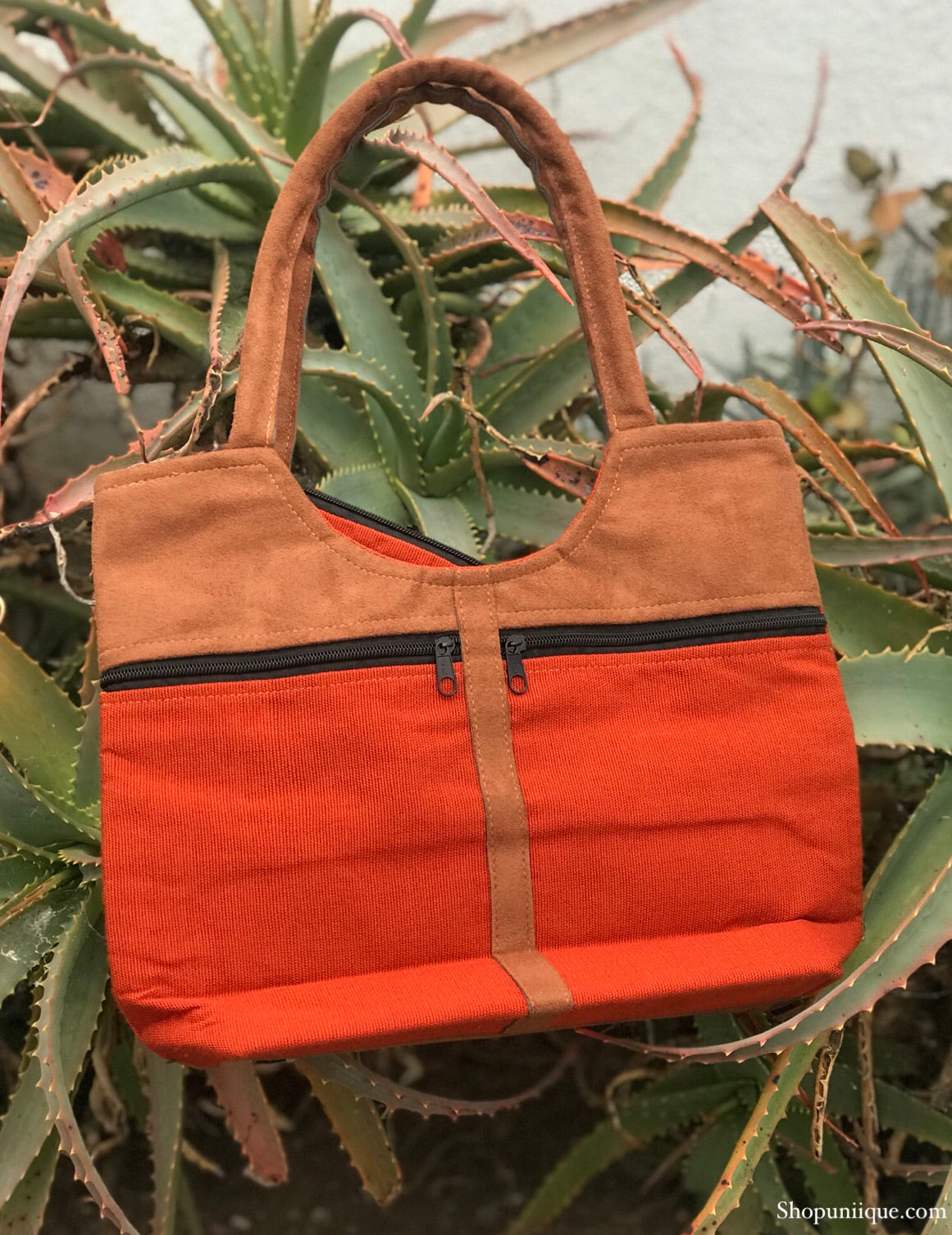 Orange Red Purse