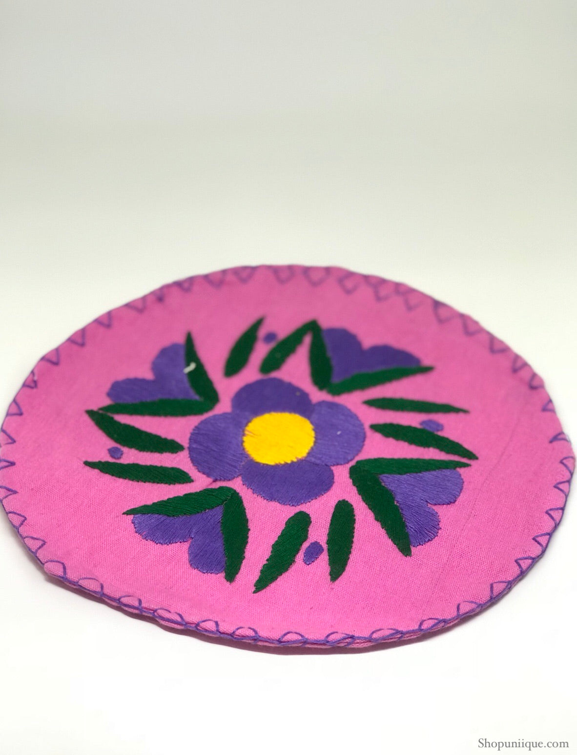Pink and Purple Tortilla Warmer