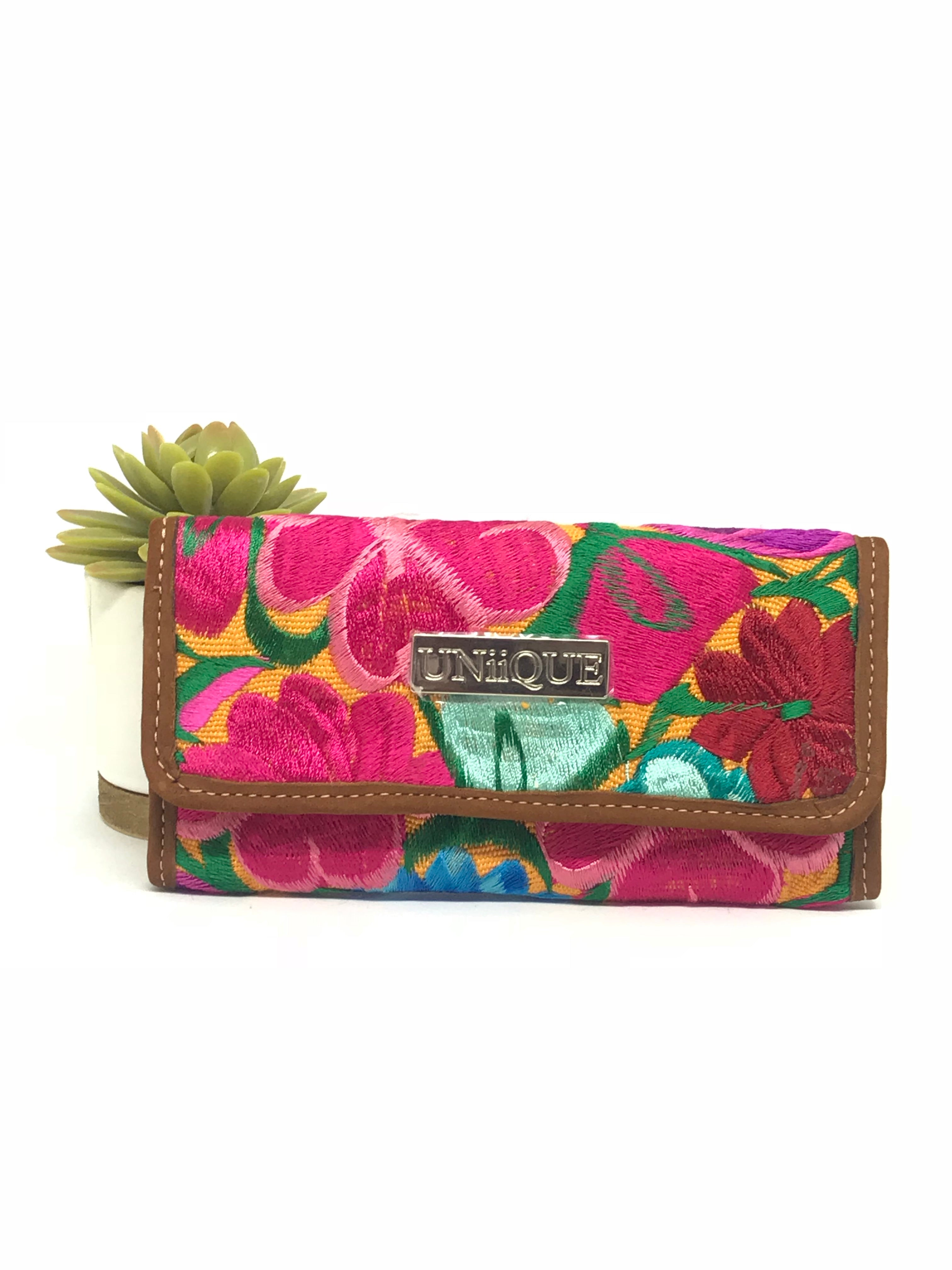 Floral Yellow Wallet