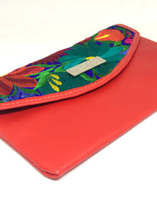 Tropical Red Clutch