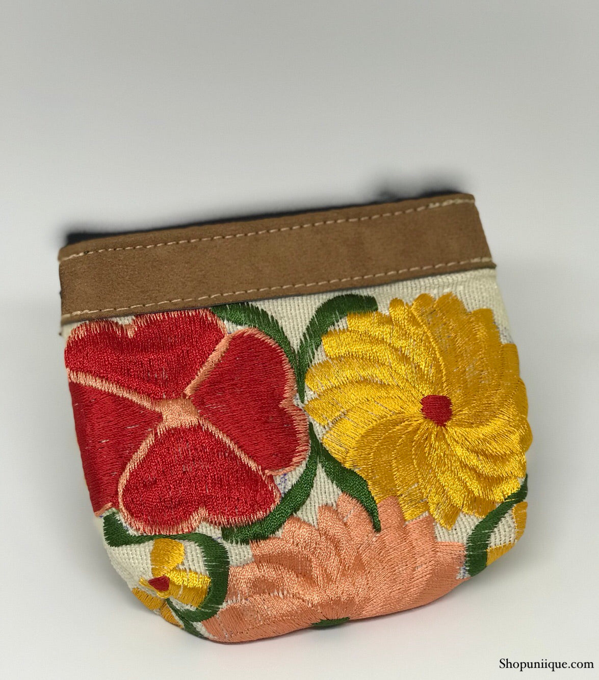 White Coin Purse