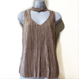 V Neck Top with Chocker