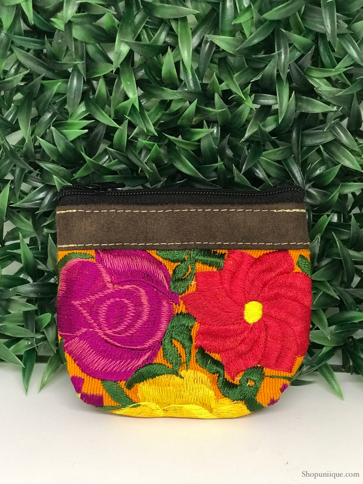 Amber Yellow Coin Purse