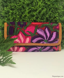Red and Purple Wallet