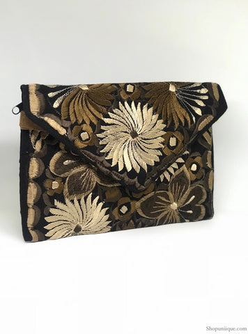 Black and Brown Cross Body