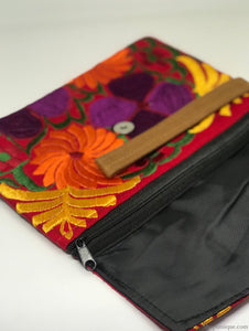 Medium Red and Yellow Clutch