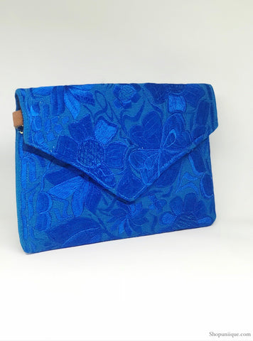 Blue and Gold Cross Body