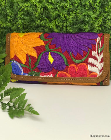Rose Wine Wallet