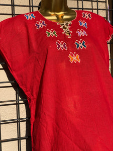 Butterfly Red Top (S/M)