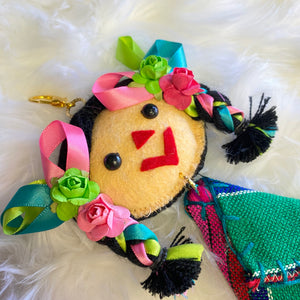 Doll with Rebozo Keychain