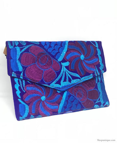 Medium Royal Blue Clutch