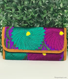 Purple & Turquoise Wallet