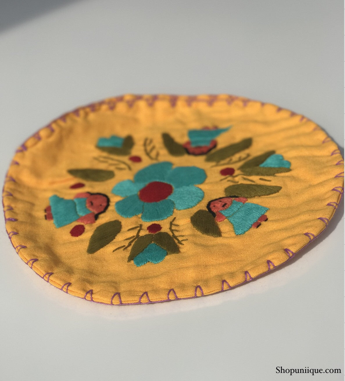 Yellow Tortilla Warmer