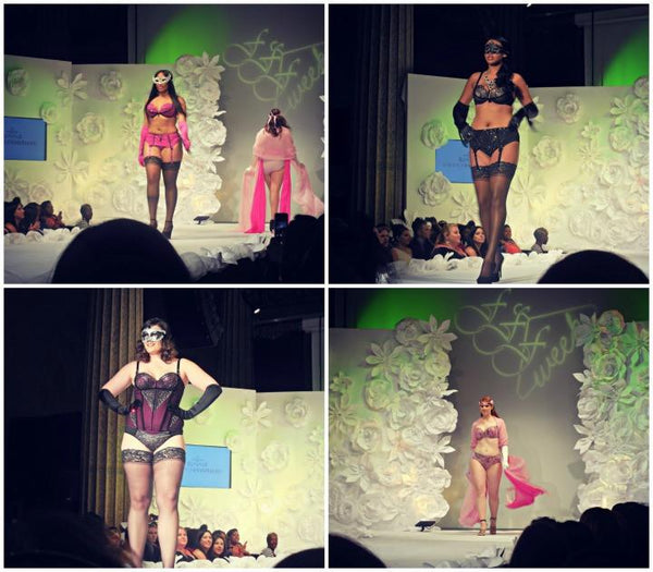 Curvy Couture Jasifer Lions Club Full Figure Fashion Week