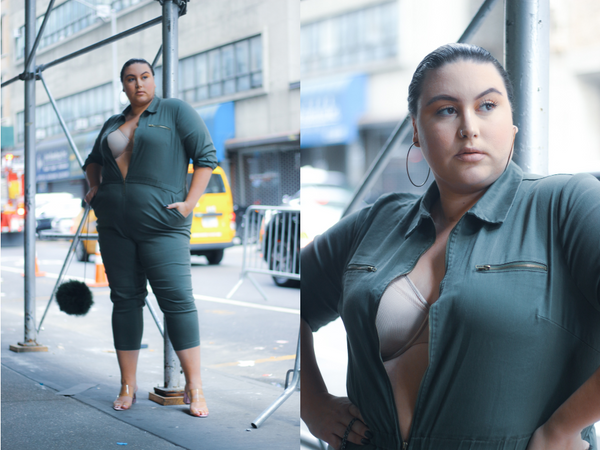 Curvy Couture goes to New York Fashion Week