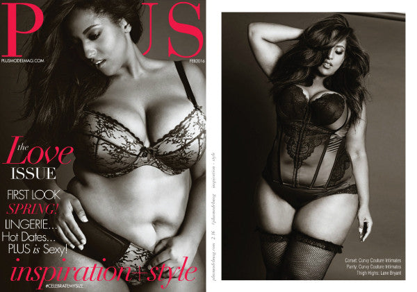 Plus Model Magazine Curvy Couture Vivica A. Fox Collection