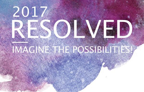 Resolved 2017 - Imagine The Possibilities
