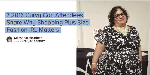 Bustle - Curvy Con Attendees Shopping IRL
