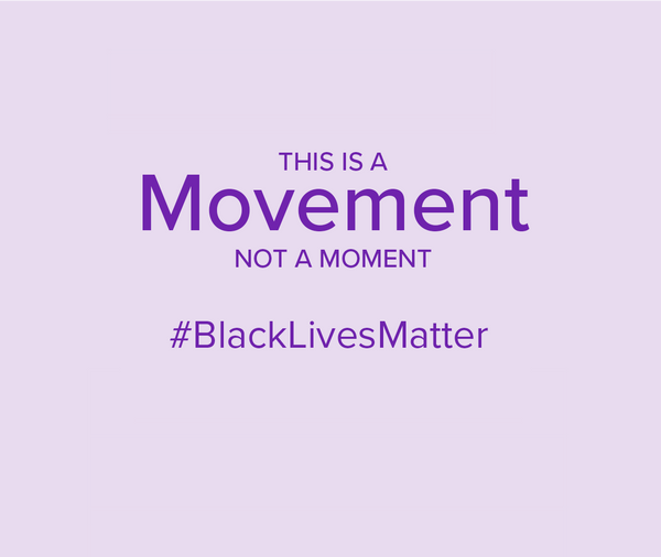 Our commitment to the Black Lives Matter movement