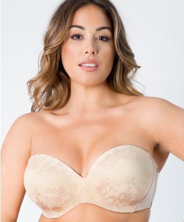 Curvy Couture Multi Way Push Up Bra Strapless Sensation