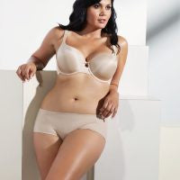 Curvy Couture Isabella Lace T-Shirt Bra The Lingerie Journal