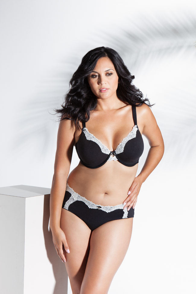 054b552963 Curvy Couture Natural Luxury Cotton Unlined Underwire   Hipster The Lingerie  Journal