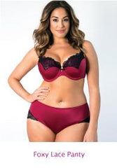 Curvy Couture Foxy Lace Panty