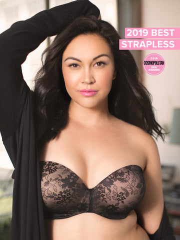 fb2be010ead67 Curvy Couture s multi-way strapless has seven different ways to wear it