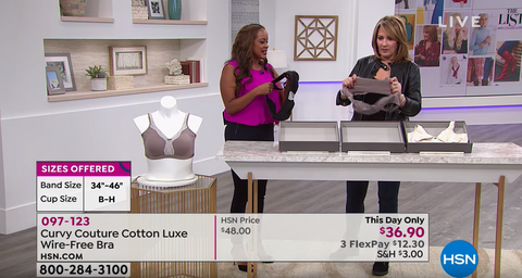 Curvy Couture HSN Cotton Luxe