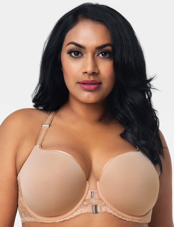 Curvy Couture Tulip Front Close - Bombshell Nude