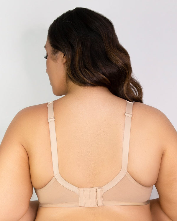 Tulip Lace Push Up - Champagne Nude