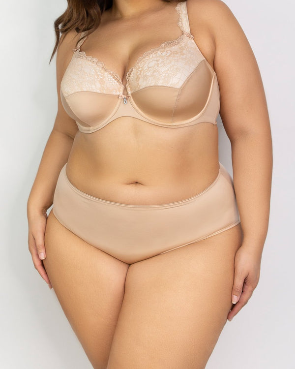Essential Boyshort - Champagne Nude - FINAL SALE!