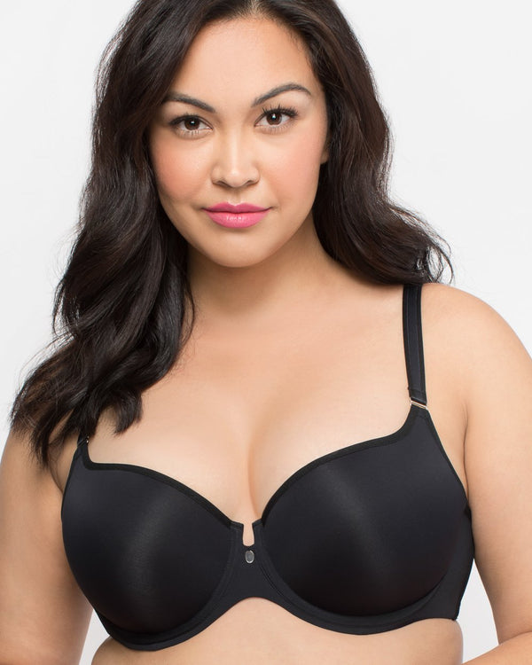 Tulip Smooth T-Shirt Bra - Black