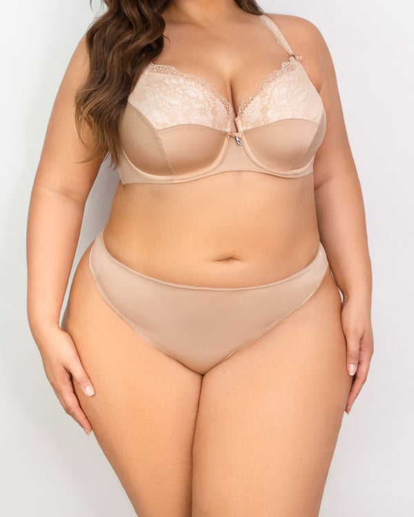 Essential Thong - Champagne Nude - FINAL SALE!