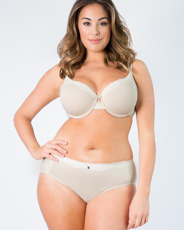 Cotton Luxe Hipster - Curvy Couture