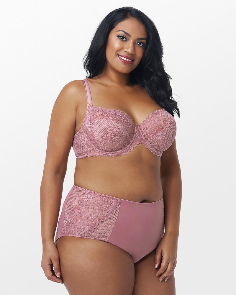 Beautiful Bliss Lace Unlined - Blush Pink - Curvy Couture