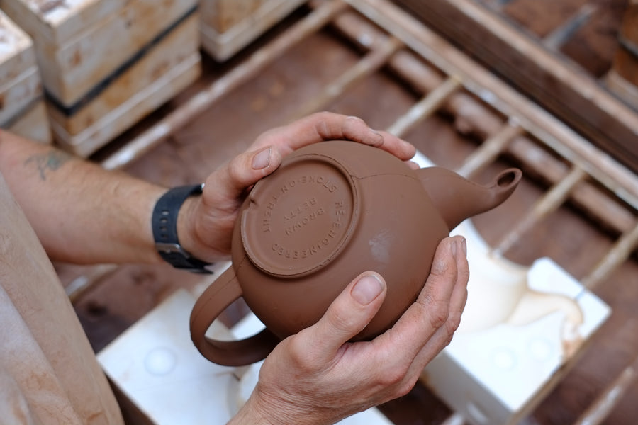 A sympathetic Re-engineering - Brown Betty Teapot