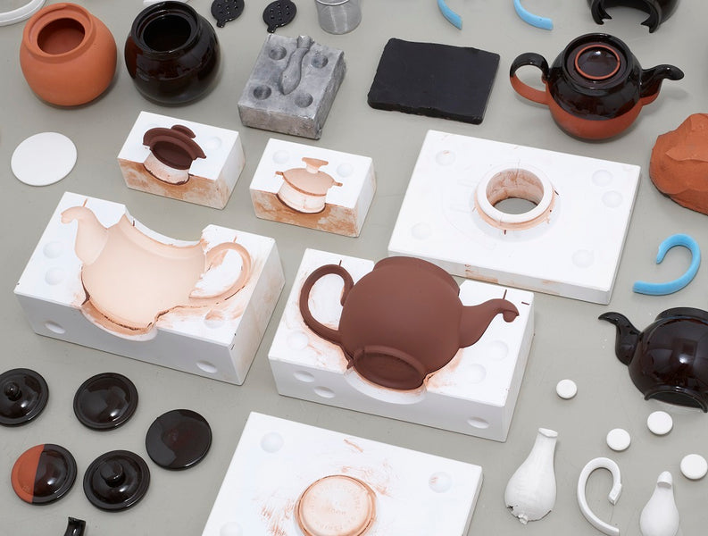 The Making of Brown Betty Teapot