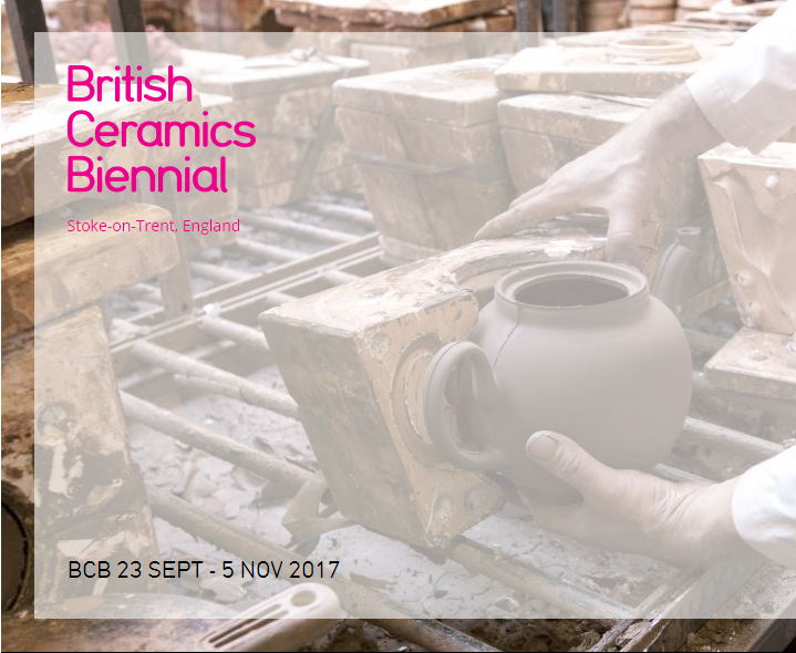 Join us at the British Ceramics Biennial!